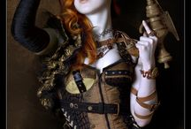 Steampunk / it's a little bit Victorian and a little bit techno and a whole lot of fantasy...