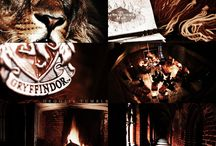 Aesthetic | Gryffindor / Hogwarts Houses - Gryffindor Bravery, chivalrous, daring