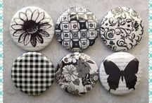 Quilt Dots / Just love these gift items!  Pins, bookmarks, and magnets. / by Jackie Kunkel/Canton Village Quilt Works