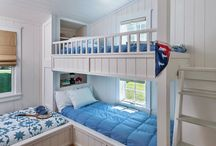 Bunk beds room for beach house