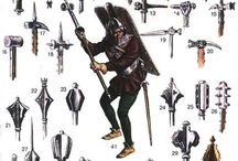 maces, warhammers...