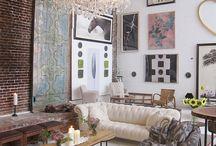 Layered interiors
