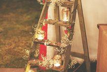 Decoración Boda / Decoración para la boda. Ideas para diferenciar el cortijo