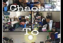 Chaos to Calm Garages / Organized garages