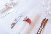 Hochzeit D+C / Hochzeit herbstliche Tischdeko