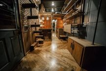 Tiny Home Interiors / Inspiring tiny house interiors, kitchens, lofts, bathrooms and living spaces under 500 sf.