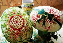 Watermelon Carvings Craftsmanship