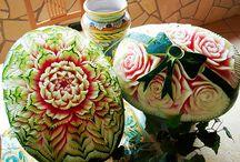 Watermelon Carvings Craftsmanship
