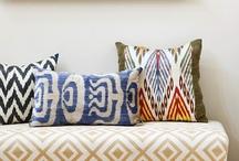 Cushions & new colours / by Afizah Aziz