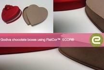 Displays und Verpackungen / Ökologische Varianten durch ECOR® gestalten