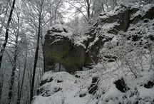 Der Juraelefant im Schnee