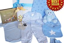 Luxurious Baby Boy Gift Hampers / Adorable baby boy gift boxes, beautifully packaged and delivered Australia Wide from www.thebabygiftcompany.com.au