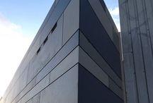 horisontal fasade