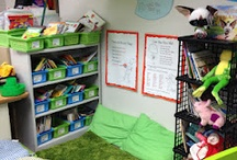 Preschool Book Area