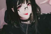 Girl Dark draw