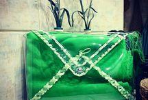 Bags handmade / Handmade bag transparent bags rękodzieło torebka przeźroczysta