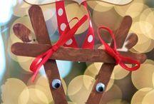 christmas crafts (school)