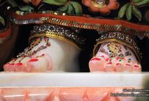 ISKCON Chennai - Radha Feet / To view Radha Feet Wallpaper of ISKCON Chennai in difference sizes visit -