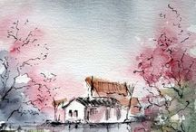Watercolour Paintings