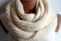 knitting/crochet scarves and hats