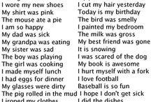 Complex & compound sentences