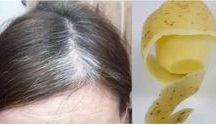 grey hair natural dye