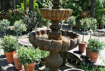 Water Features / fountains, garden fountains