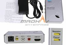 Converters Madhav Enterprise Surat / Madhv Enterprise provides #Audio - #Visual #Converters like #HDMI to #VGA, VGA to HDMI, HDMI to #AV, AV to HDMI, #DVI to HDMI, #Mini #DisplayPort to HDMI etc in #Surat #Gujarat # India @salesmadhav