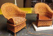 Flettede møbler