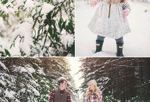 Winter family photoshoot