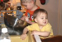 Children in the Kitchen / Children are a joy in the kitchen. I'll always hold dear the memories of my daughters, nieces, nephews, and the daycare children helping me in the, learning to prepare different foods. / by Shannon L. Buck - Author
