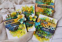 Mixed Media Cards