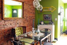 Colour in Interiors: GREEN