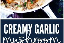 Recipes / Creamy Garlic Mushroom Chicken