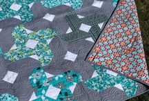 My Nighttime Blossoms Pattern / Sharing my quilts and quilts by others using this pattern.  Originally published in Fons and Porters Fall 2015 Easy Quilts / by Cynthia Brunz Designs