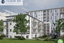 """Referenz ★ Luitpold Höfe / Im Projekt """"Luitpold Höfe"""" erwarten euch attraktive und moderne 1- bis 4-Zimmer-Eigentumswohnungen in München-Milbertshofen."""