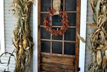 Autumnal Home Dec