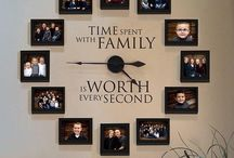 Family Photos Display Ideas