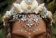 MERMAID CROWNS / Boho? Jesus gives me a much more beautiful crown.