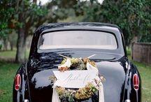 Wedding Transportation / Stylish and Elegant Getaway Cars