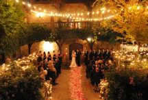 Lighting for Weddings / So much pretty lightings for weddings, day or night.