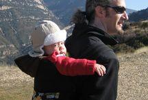 Portazagales, portabebés, meitais y mucho más. / Fotos de familias usando portabebés...aupa es más fácil.
