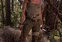 Lara Croft Alicia Vikander Cosplay