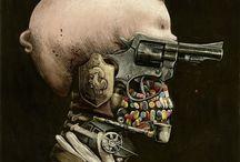 Beware of Artists / Paintings/Drawings/Sculptor/Street Art, etc. / by Brianna McKane Darling