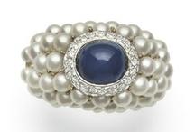 Pearl Rings / Snazzy pearl rings / by Kari Pearls