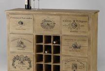 meuble caisse vin