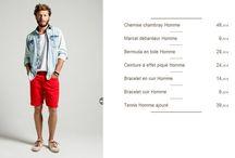 tenue d'été pour homme