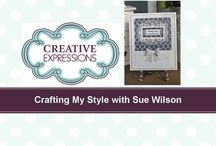 Sue Wilson Videos Series 4 / by Ecstasy Crafts