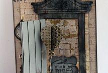 Sizzix Door Die ideas / by Karen Burniston