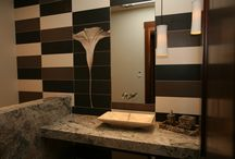Custom Backsplashes that Wow! /  Custom backsplashes define a space and set it apart from any other! Mix shapes of tile, traditional or contemporary, your house will become a work of art, one wall at a time.  See all the inspirations here at Picasso Tile & Stonework!  http://picassotile.com/blog/5-custom-backsplashes-wow/